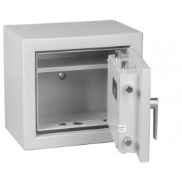 Keysecure Victor Small Eurograde 1 Key Locking Safe Size 1 - Door open
