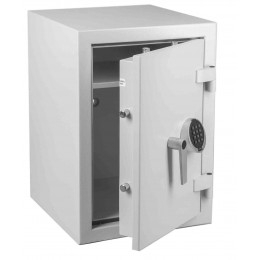 Keysecure Victor Eurograde 1 Electronic Security Safe Size 3 - door ajar
