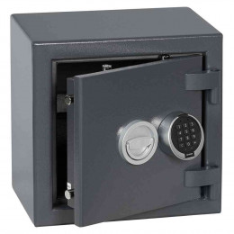 Keysecure Victor Small Eurograde 1 Electronic Safe Size 1 - Door Ajar