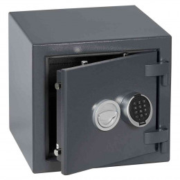 Keysecure Victor Eurograde 1 Electronic Security Safe Size 2 - door ajar