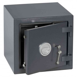 Keysecure Victor Eurograde 1 Key Lock Security Safe Size 2 - door ajar