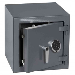 Keysecure Victor Small Eurograde 3 Electronic Safe Size 1 - door ajar