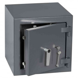 Keysecure Victor Small Eurograde 2 Key Lock Safe Size 1 - Door ajar