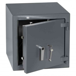 Keysecure Victor Eurograde 3 Key Locking Security Safe Size 2 - door ajar