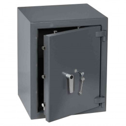 Keysecure Victor Eurograde 2 Key Locking Security Safe Size 3 - door  ajar