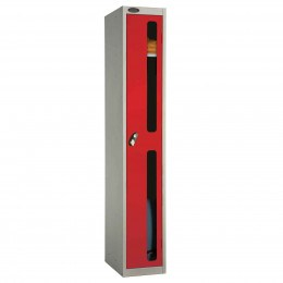 Probe 1 Door Anti-Stock Theft Vision Window Steel Locker