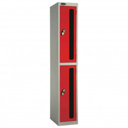 Probe 2 Door Anti-Stock Theft Vision Window Steel Locker