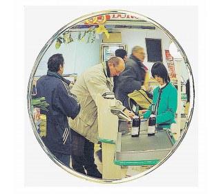 Security Surveillance Convex Wall Mirror 50cm - Vialux