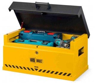Van Vault Mobi - Vehicle Storage Box - Security Tested - lid open