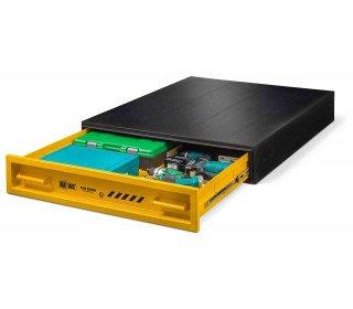 Van Vault Slim Slider Vehicle Tested & Certified Security Storage Box - drawer open