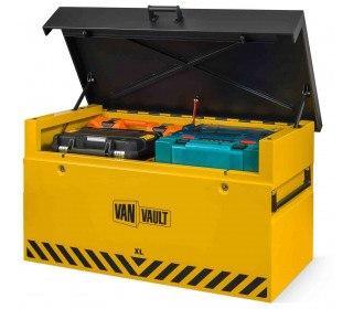 Van Vault XL:Large Van Security Tested Storage Chest - open