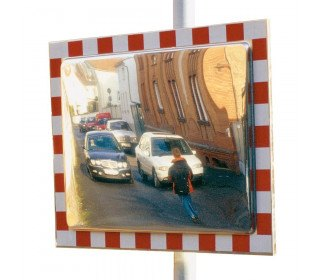 Moravia Durabel 3 Stainless Steel Traffic Mirror 800x1000