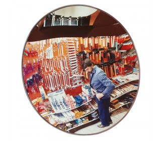 Wide Angle Security Surveillance Wall Mirror  - Detective-X 80cm
