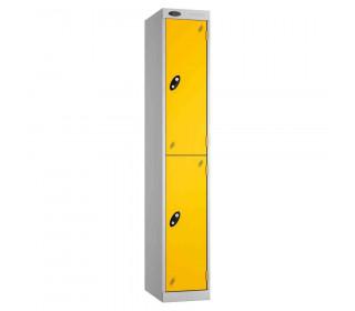 Probe Expressbox 2 Door Locker Padlock Hasp Yellow