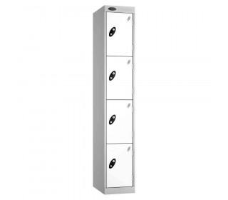 Probe Expressbox 4 Door Locker Padlock Hasp White
