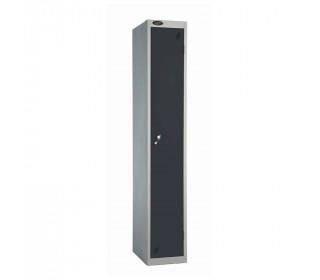 Probe 1 Door High Steel Storage Locker Padlock Hasp Lock - Black door