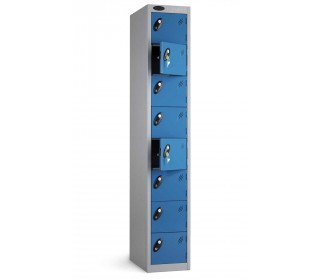 Probe 8 Door Personal Effects Key Locking Storage Locker door open