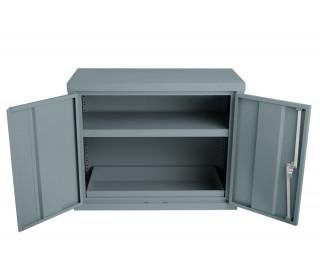 Bedford 88H794 COSHH Hazardous 2 Door 712H mm Cabinet - doors open
