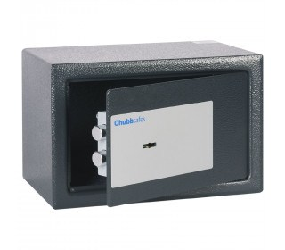Chubbsafes Air 10K Slightly open lock is a double bitted key lock