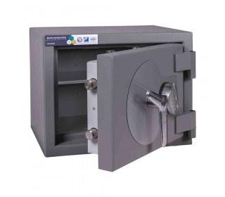Burton Amario 1E Grade 3 Electronic Security Safe £35K door ajar