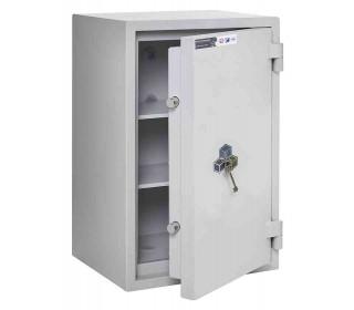 Burton Eurovault Grade 0 Safe Size 2 Key Locking showing the Door Ajar