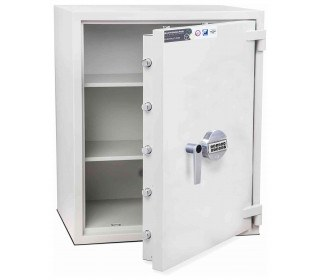 Burton Eurovault Aver 4E Eurograde 2 Electronic Security Fire Safe - door open