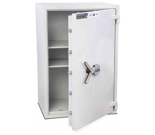 Burton Eurovault Aver 5E Eurograde 2 Electronic Security Fire Safe - door open