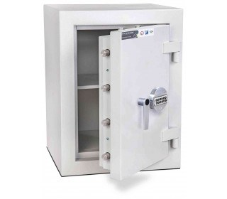 Burton Eurovault Aver 1E Eurograde 3 Electronic Security Fire Safe - door ajar