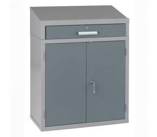Bedford 88BDU1 Welded 1 Drawer Steel Sloping Top Desk Cabinet