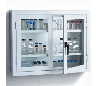 Bedford 88V793 Viewcab Safety Glass Door Wall Cabinet