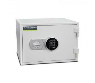Burton Firebrand Size1 Fireproof Home Electronic Safe - door closed