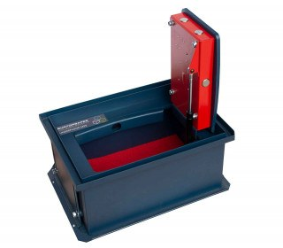 Burton Sotto En14450 S2 Certified and Tested £4000 Rated Floor Safe - Low Height and door open