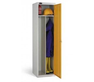 Probe Clean & Dirty Locker 1780x460x460mm yellow open door
