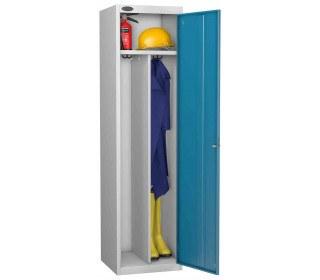 Probe PPE Clean & Dirty Workwear Combination Locking Locker open