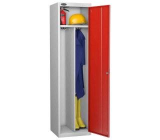 Probe Clean & Dirty Key Locking Locker red
