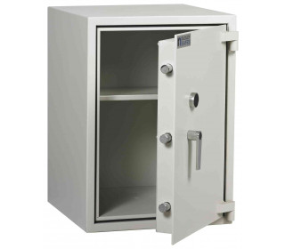 Dudley Compact 5000-3 Fire £5000 Rated Security Safe - door ajar