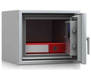 De Raat DRS Combi-Fire 1K £4000 Rated Key Lock Security Fireproof Safe - door open
