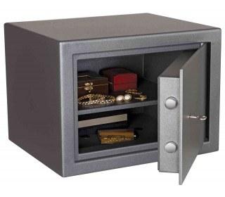 Key Locking £4000 Laptop Safe - De Raat Vega S2 40K - open