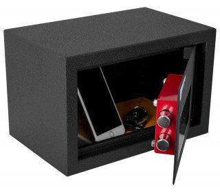 Protector Domestic DS2031K Key Locking Home Security Safe - Door ajar