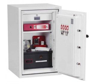 Phoenix DataCombi DS2502K 90mins Key Fire Data Paper Safe - Interior