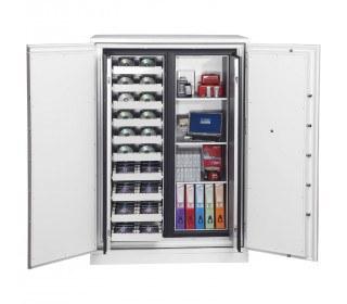 Phoenix Data Commander DS4623F 2 Hour Fingerprint Fire Safe - doors open