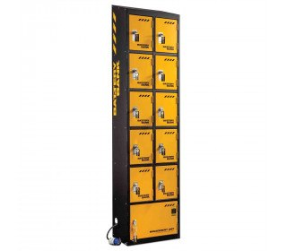 Defender Battery Bank 10 dr Power Tool Charging Locker