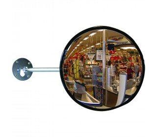 Dancop EC-US-40 Telescopic Arm Convex Wall Mirror - industrial use