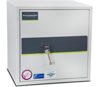 Burton Eurovault Aver 3K Police Approved Security Safe closed