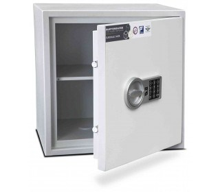 Burton Aver S2 3E Insurance Approved Electronic Security Safe - door ajar