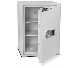 Burton Aver S2 4E Insurance Approved Electronic Security Safe - door ajar