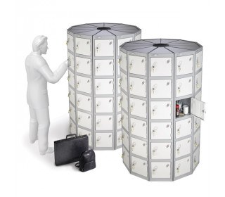 Probe Space Saving 66 Compartment Locker Pod