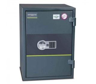 Fire Security Safe £4000 - Burton Firesec 4/60/3E - door closed