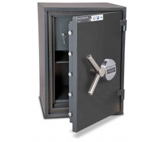 Burton Firesec 10/60 2E Electronic Security Fireproof Safe - door ajar