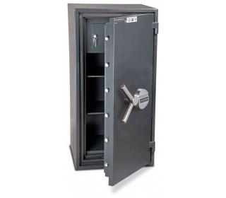 Burton Firesec 10/60 3E Electronic Security Fireproof Safe - door ajar